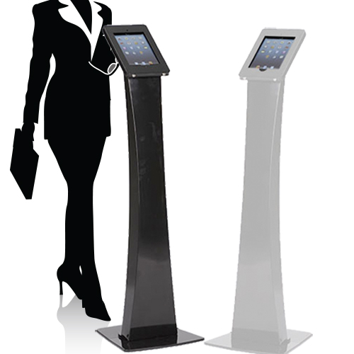 Locking iPad Kiosk Stand for Trade Shows
