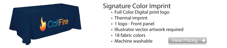 Signature Color Table Cover