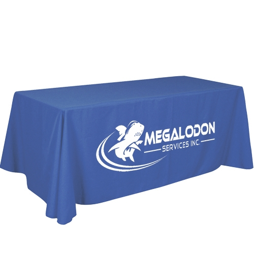 Trade Show Table Cover With Logo