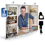 CampaignExtra 8ft Retractable Banner Wall