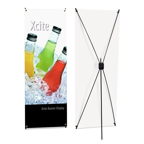 X cite X Banner Stand Display