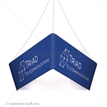Blimp Trade Show Ceiling Banner 10 Trio Tapered