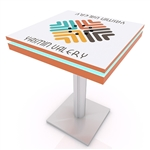 Mobile Device Charging Station Bistro Table