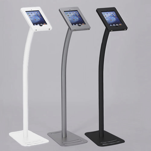 Expo Stands Kioska : Standard ipad kiosk stand w lockable clamshell for trade