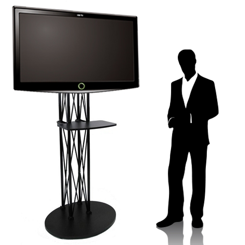 Trade Stands For : Ez fold all in one trade show tv stand up to quot large
