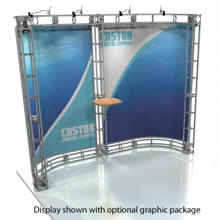 Castor orbital truss graphics for Truss package cost