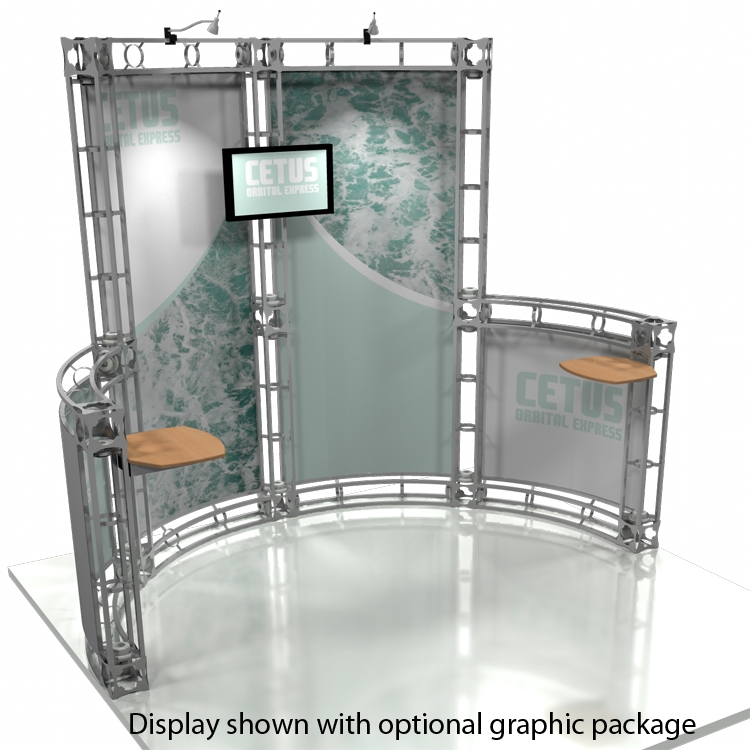 Cetus orbital truss graphics for Truss package cost