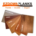 EZ Down Flexible Wood Planks Flooring