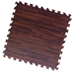 Walnut Comfort Tile Woods Trade Show Flooring