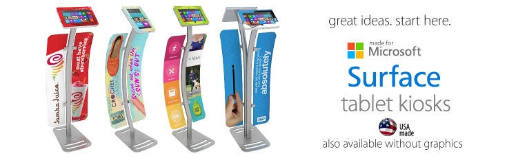 Surface Stand Enclosure Kiosks